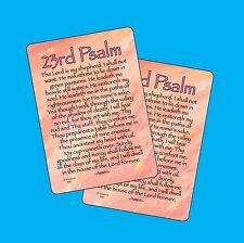 23rd Psalm - 2 Verse Cards - SKU# 640