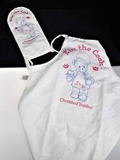Cherished Teddies Kiss the Cook Cooking Mitt & Apron Set Teddy Bear Enesco 1999
