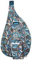 KAVU Rope Sling Bag Polyester Crossbody Shoulder Hiking Backpack - Fine Feathers
