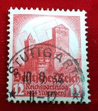 Briefmarke Deutsches Reich 12 Pfennig Reichsparteitag 1934 Nürnberg Nr.547 (1C5)