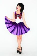 Original LIVING DEAD CLOTHING Sailor Moon - Saturn Kleid Dress Cosplay 34 XS