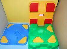 Little Tikes Lego Lap style table top playset road storage blocks car travel