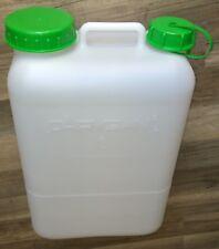 Wasserkanister, 19 Liter, Zweihalskanister, 2 Hals Tank 2 Mündungen, Wassertank