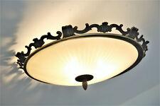 60er 50er  Lampe Lamp  Flushmount PLAFONIER Kaiser