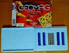 Geomag Magnetic World The Original Colour 42 Pieces RARE BLUE Swiss Build