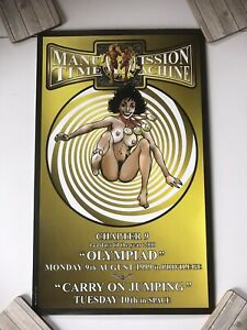 Manumission Time Machine Poster - Ep 9 - Olympiad - Ibiza - Good Condition