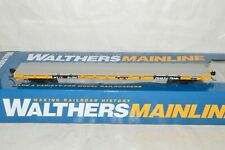 HO Scale Walthers Mainline Trailer Train TTX MTTX 60' PS Flat Car