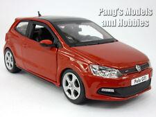 Volkswagen VW  Polo GTI Mark 5 (Mk5) 1/24 Scale Diecast Model - RED