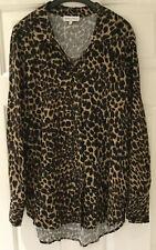 NUOVI Sandali Donna Leopardati Fishtail a coda MAC Impermeabile Con Cappuccio Giacca A Maniche Lunghe 18-24