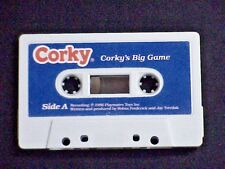 TALKING CORKY DOLL CRICKET'S BROTHER AUDIO TAPE TITLED CORKY'S BIG GAME