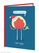 BrainBox CANDY Navidad Tarjetas Regalo Divertido Humor Broma Peculiar Mary Berry