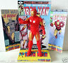 "Marvel Comic IRON MAN 6"" 15cm ACTION FIGURE on Custom Design Display Diorama #4"