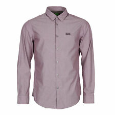 HUGO BOSS Collared Long Sleeve Casual Shirts & Tops for Men
