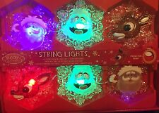 Rudolph The Red Nosed Reindeer Musical String Lights Bumble Santa Christmas