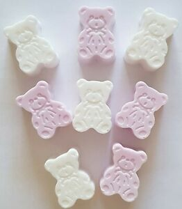 HANDMADE TEDDY BEAR SOAPS, NEW BABY, BABY SHOWER, BABY GIFT, KIDS NOVELTY SOAP