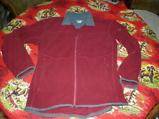 ARCTERYX Lightweight POLARTEC Full Zip Jacket Base Shell Burgundy/Red size XL