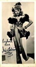 Vintage IRIS ADRIAN Signed Photo