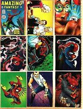 1992 Comic Images trading card set (90 complete) 30th Anniversary SPIDER-MAN II