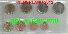 NEDERLAND 2012 - 8 Munten/Monnaies uit de rol - Koningin Beatrix - UNC!!!