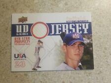 2009 Upper Deck USA Baseball Nicky Delmonico UD GAME JERSEY RELIC #GJU-5