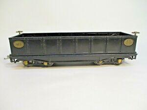 Ives 198 Gondola LL Transition Black Restored Standard Gauge X4640