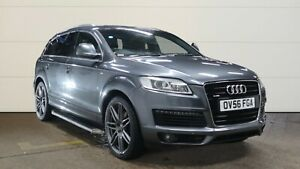 56 AUDI Q7 3.0 TDI QUATTRO S LINE, LONG MOT, NAVIGATION, LEATHER, PRIVACY GLASS.
