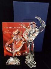 Swarovski Crystal Antonio Figurine and Plague with Box and Catalog