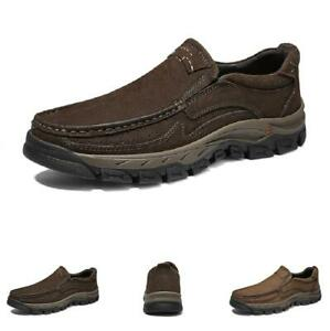 Men's Outdoor Hiking Shoes Driving Moccasins Soft Comfy Faux Leather Non-slip L