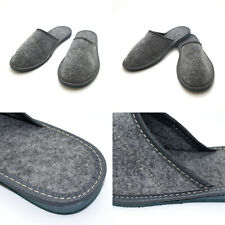 Womens Warm Comfortable Felt Lined Slippers Slip On Mules All Sizes 6 to 12 FID