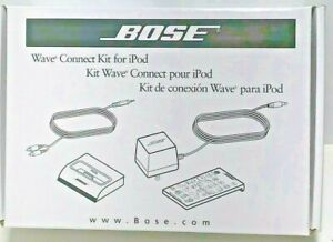 New BOSE Wave Connect Kit For iPod With Remote 315527-0010 Brand New in Box NIB