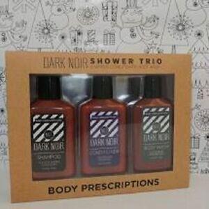 Dark Noir Shower Trio Body Prescriptions, Shampoo/Conditioner/Body Wash