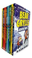 Bear Grylls Adventure Collection 10 Books Set Pack Blizard Challenge Earthquake