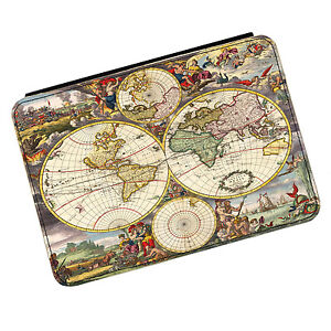 Vintage Old World Map #5 Kindle Paperwhite Touch PU Leather Flip Case Cover