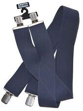Suspender-5.1cm Wide-Charcoal Gris Gris