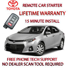 14, 15 16 TOYOTA CAROLLA REMOTE START-NO WIRE SPLICING -SMART KEY ONLY