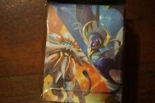pokemon center japan deck box sun & moon nulala, solgaleo brand new