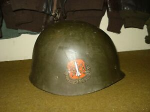 Vietnam War Era US Army Helmet Liner