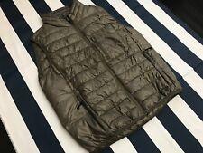 🍔GAP Military Green Reversible PACKABLE Full Zip Vest Men XLarge Puff Jacket🍔