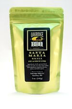 Oakridge BBQ Santa Maria Grill Seasoning Dry Rub 5oz Packet Barbecue Meat Spices