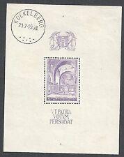 Belgium stamps 1938 YV Bloc 9  CANC  VF