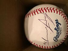 Matt Tuiasosopo Autographed Baseball