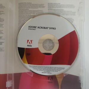Adobe Acrobat 9 Pro Professional for Windows