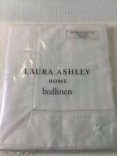 Laura Ashley Home Bedlinen 1 Oxford Pillowcase New In Pack Cotton White W758