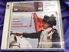 Rare Soundtrack CD : La Revolution Francaise ~ Georges Delerue ~ DCM 105/106