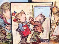 Vtg Set Nice Children's Frame-tray Puzzles 1958 FRAMEABLE HUMMEL HARD TO FIND