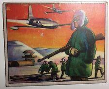 RED MENACE #22 Alaska Lookout (1951) Bowman Gum non-sport card