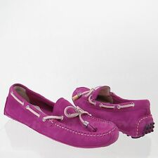 Cole Haan Grant Driver Women's Shoes Pink Suede Mocassins Size 7 M NEW!