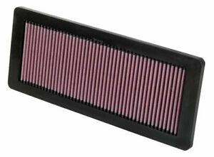 K&N 33-2936 for Peugeot 508 washable reusable high flow drop in panel air filter