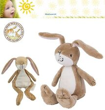 Guess How Much I Love You Soft Toy Rattle Baby Bean Nutbrown Hare 18cm-GH1206
