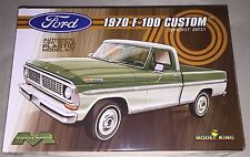 Moebius 1970 Ford F-100 Custom Cab Short Bed Pickup 1/25 model kit new 1228